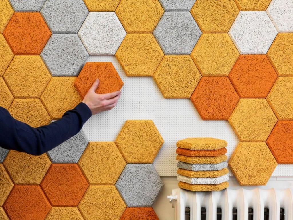Jeanette Vallebæk Holdgaard Furniture Design & Art: Contemporary Sound  Absorbing Wall Panel Design